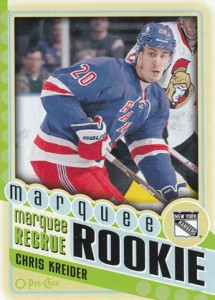 2012-13 O-Pee-Chee Chris Kreider RC