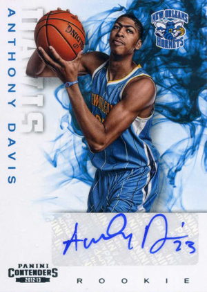 Anthony Davis Rookie Cards Checklist and Gallery 4
