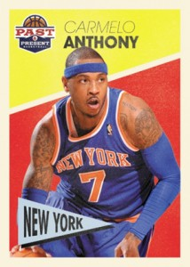 2012-13 Panini Past & Present Basketball Carmelo Anthony
