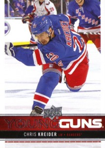 2012-13 Upper Deck Chris Kreider RC