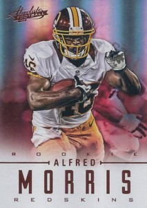 2012 Absolute Alfred Morris RC