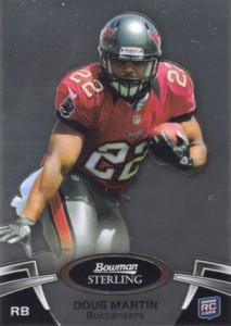 Doug Martin Rookie Cards Checklist and Guide 3