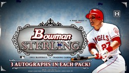 Win a FREE Box of 2012 Bowman Sterling Baseball 1