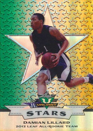 2012 Leaf Valiant Rookie Stars Trading Cards 15