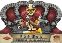 2012 Panini Crown Royale Alfred Morris RC