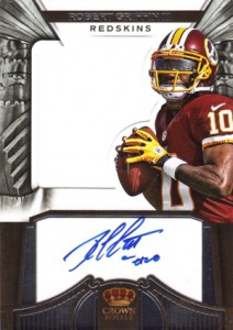 2012 Panini Crown Royale Football Rookie Silhouette Autographs Guide 16