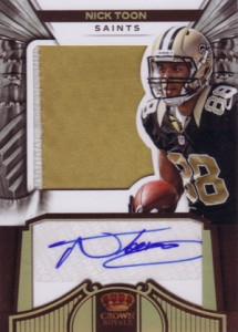 2012 Panini Crown Royale Football Rookie Silhouette Autographs Guide 15