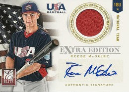 2012 Panini Elite Extra Edition Baseball 18U National Team Autographs Guide 1