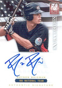 2012 Panini Elite Extra Edition Baseball 18U National Team Autographs Bryson Brigman
