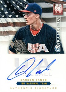 2012 Panini Elite Extra Edition Baseball 18U National Team Autographs Guide 3