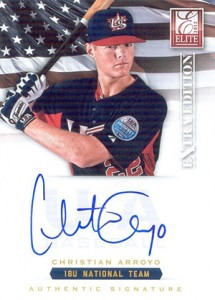 2012 Panini Elite Extra Edition Baseball 18U National Team Autographs Guide 6