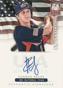 2012 Panini Elite Extra Edition Baseball 18U National Team Autographs Guide 7