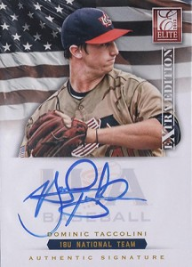 2012 Panini Elite Extra Edition Baseball 18U National Team Autographs Guide 9