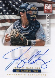 2012 Panini Elite Extra Edition Baseball 18U National Team Autographs Guide 12