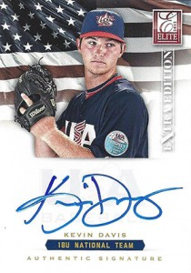 2012 Panini Elite Extra Edition Baseball 18U National Team Autographs Guide 15