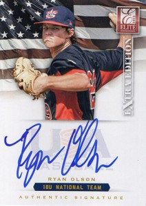 2012 Panini Elite Extra Edition Baseball 18U National Team Autographs Guide 18