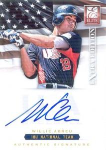 2012 Panini Elite Extra Edition Baseball 18U National Team Autographs Guide 20