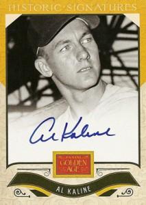 2012 Panini Golden Age Baseball Historic Signatures Autograph Guide 15