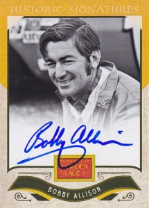 2012 Panini Golden Age Historic Signatures Bobby Allison