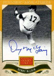 2012 Panini Golden Age Baseball Historic Signatures Autograph Guide 24