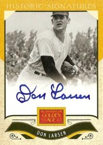 2012 Panini Golden Age Baseball Historic Signatures Autograph Guide 16