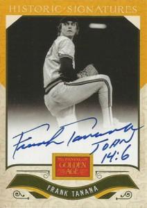 2012 Panini Golden Age Baseball Historic Signatures Autograph Guide 34