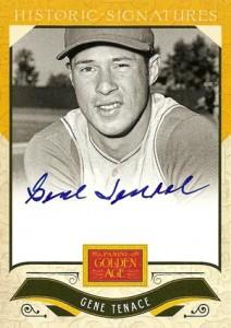 2012 Panini Golden Age Baseball Historic Signatures Autograph Guide 35