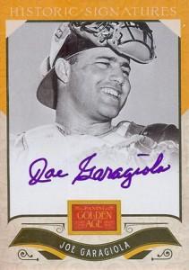 2012 Panini Golden Age Baseball Historic Signatures Autograph Guide 11