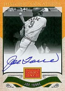2012 Panini Golden Age Baseball Historic Signatures Autograph Guide 36