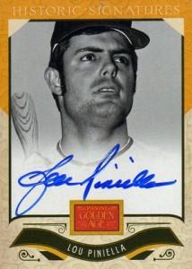 2012 Panini Golden Age Baseball Historic Signatures Autograph Guide 28