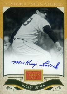 2012 Panini Golden Age Baseball Historic Signatures Autograph Guide 19