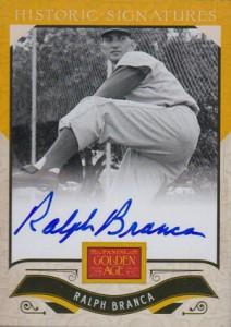2012 Panini Golden Age Baseball Historic Signatures Autograph Guide 4