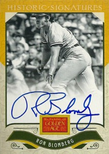 2012 Panini Golden Age Baseball Historic Signatures Autograph Guide 2