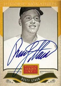 2012 Panini Golden Age Baseball Historic Signatures Autograph Guide 33