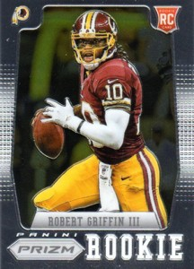 2012 Panini Prizm Football Rookie Variations 227 Robert Griffin III