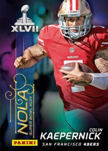 Ravens, 49ers and Saints Focus of Panini Super Bowl XLVII Promo Card Set 2