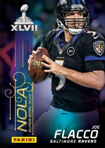 Ravens, 49ers and Saints Focus of Panini Super Bowl XLVII Promo Card Set 1