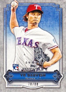 Yu Darvish Baseball Cards and Autograph Memorabilia Guide 14