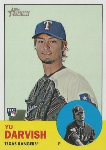 Yu Darvish Baseball Cards and Autograph Memorabilia Guide 16