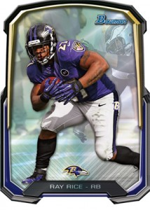 2013 Bowman Football Cards 9
