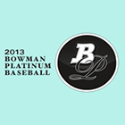 2013 Bowman Platinum Baseball Cards