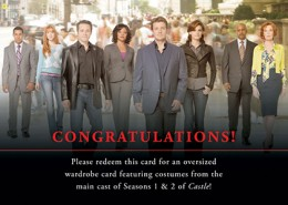 Nathan Fillion Autographs Confirmed for Castle Seasons 1 and 2 Trading Cards 2