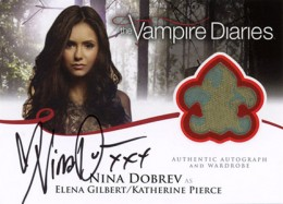2013 Cryptozoic Vampire Diaries Season 2 Autographs Guide 1