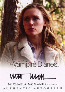 2013 Cryptozoic Vampire Diaries Season 2 Autographs Guide 13