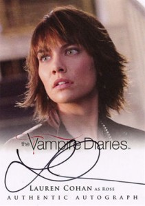2013 Cryptozoic Vampire Diaries Season 2 Autographs Guide 15
