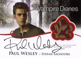 2013 Cryptozoic Vampire Diaries Season 2 Autographs Guide 2