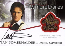 2013 Cryptozoic Vampire Diaries Season 2 Autographs Guide 3