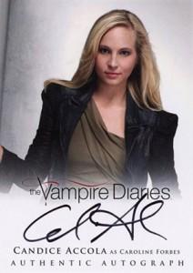 2013 Cryptozoic Vampire Diaries Season 2 Autographs Guide 6