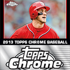 2013 Topps Chrome Baseball Cards