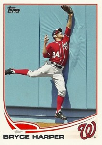 2013 Topps Series 1 Baseball Variation Short Prints 1 Bryce Harper